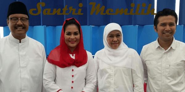 Santri Memilih Pemimpin Jatim 2018 dengan Filosofis Jawa