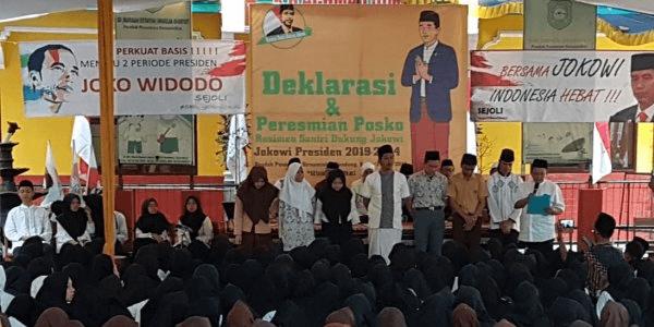 Pilpres 2019, Santri Memilih Dukung Jokowi Apa Istimewanya?