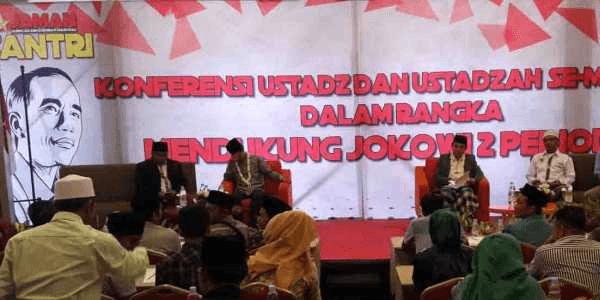 Pilpres 2019, Ustadz Se-Madura Memilih Dukung Jokowi