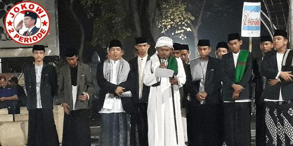 Santri se-DKI Jakarta Memilih Jokowi Dua Periode