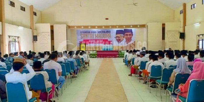 Pilpres 2019, Santri Madura Memilih Jokowi-Ma'ruf Amin Dua Periode