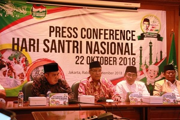 """22 Oktober 2018, Hari Santri Memilih Tema """"Dedikasi Santri untuk Indonesia Mandiri"""""""