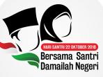 Resmi, Hari Santri Nasional 2018 Memilih Logo Ini