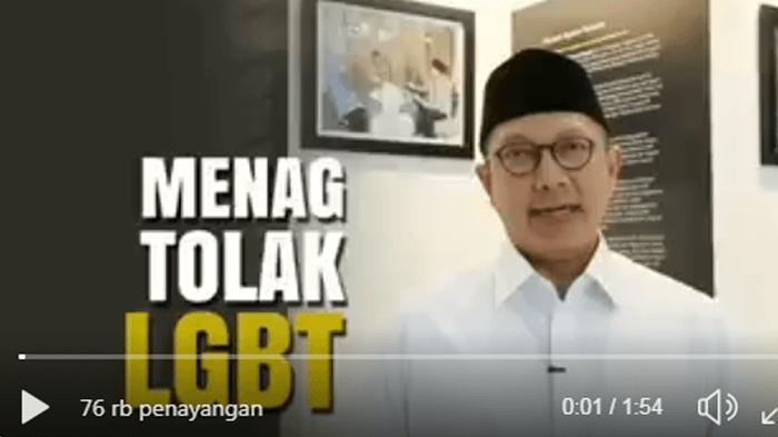 Sikap Menag Lukman Hakim Terkait LGBT