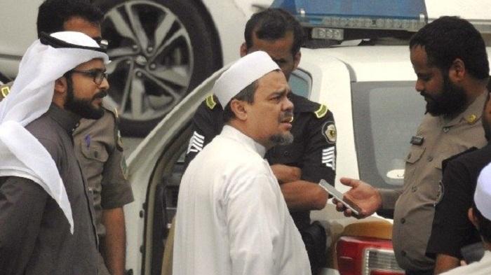 Kabar Habib Rizieq Ditangkap Otoritas Arab Karena Bendera HTI, Hoaks Apa Bukan?