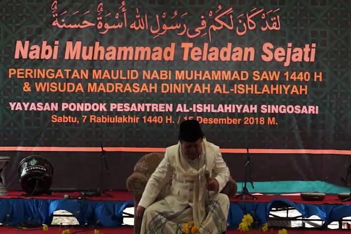 Viral Pesan Taushiyah KH Bukhori Amin Sebelum Hembuskan Nafas Terakhir
