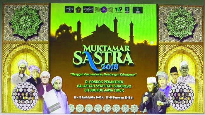 Pesantren Salafiyah Syafiiyah Situbondo Gelar Muktamar Sastra 2018