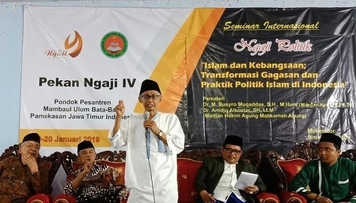 Pesantren Bata-Bata Ngaji Politik