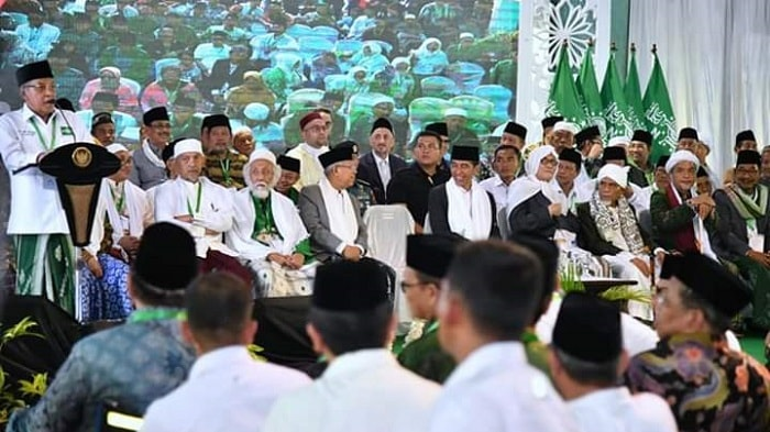 Isi Pidato Ketua Umum PBNU dalam Pembukaan Munas Alim Ulama dan Kombes NU 2019