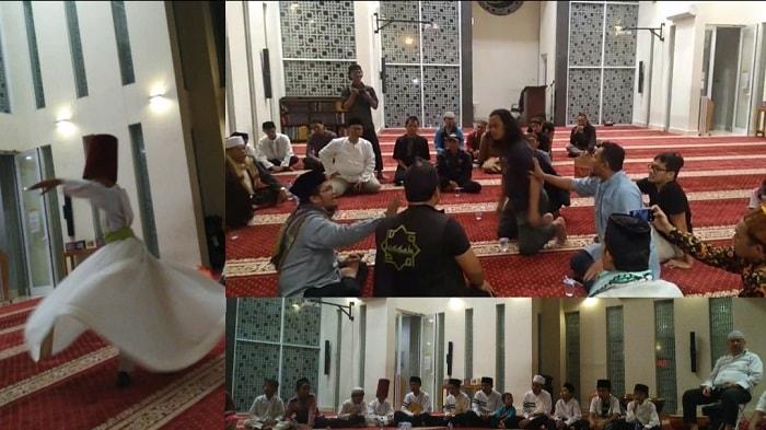 Biadab, Wahhabi Indonesia Bubarkan Maulid Nabi dan Tarian Sufi