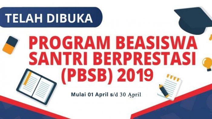 Kemenag: Program Beasiswa Santri Beprestasi Dibuka 1 April 2019
