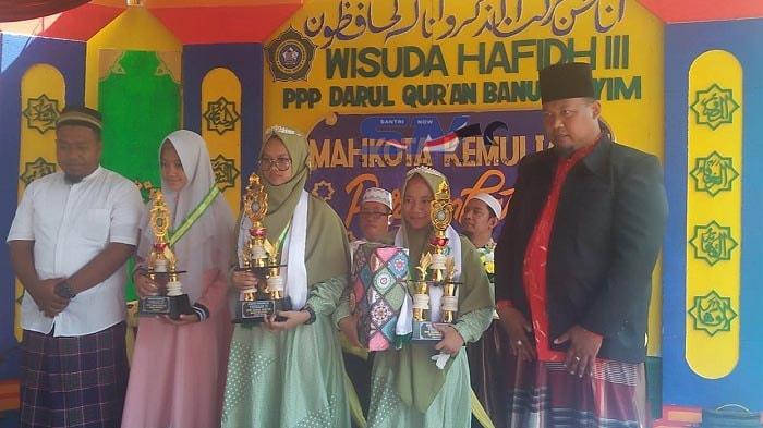 Wisuda Terbaik Hafidh Quran Pesantren Banu Hasyim 2019