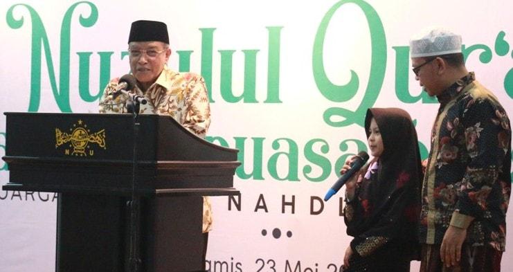 KH Said Aqil Siradj Kagum dengan Kecerdasan Naila Lisa Amania