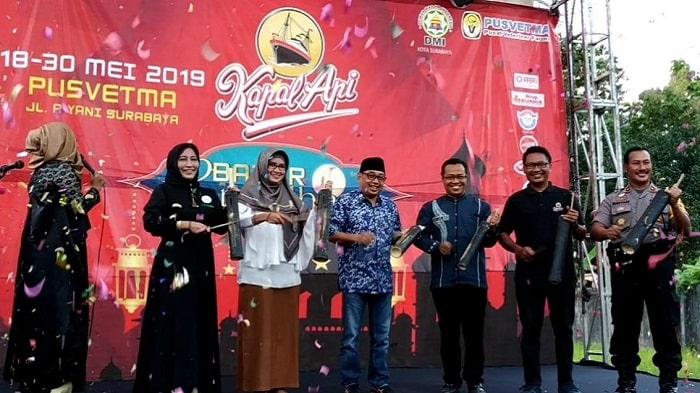 DMI Surabaya Berbagi Berkah Lewat Bazar Ramadhan