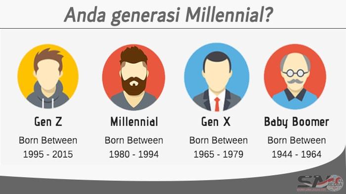 Gen Y, Gen X, dan Gen Z itu?