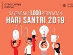 Resmi, Logo Hari Santri Nasional 2019 Disayembarakan