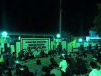 PMII Berduka, Komunitas Gusdurian dan Kader PMII Tahlilan di Mapolres Palopo