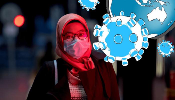 Wabah Virus Korona, Santri Jangan Songong dan Jangan Panik, Praktikkan Saja Doa Berikut Ini