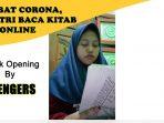 Contoh Santri Baca Kitab via Online Akibat Corona